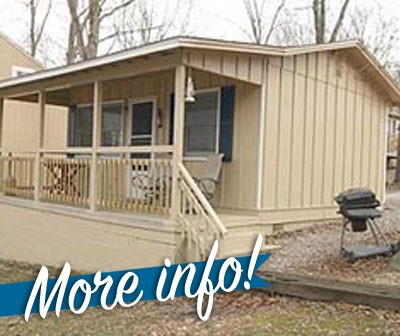 STUDIO & 1 BEDROOM CABINS {click images for more info}